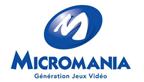micromania logo head vignette