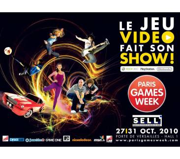PRESENTATION CONFERENCE DE PRESSE PARIS GAMES WEEK 290910-1