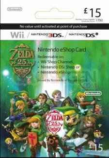 Carte Prépayé Zelda 3