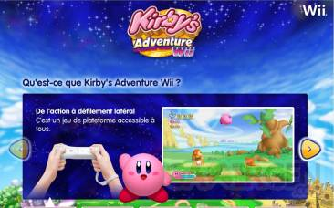 Site Kirby Nintendo FR