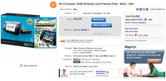 Offre ebay Wii PAL 32 go Capture d'écran 2012-12-28 à 22.05.49