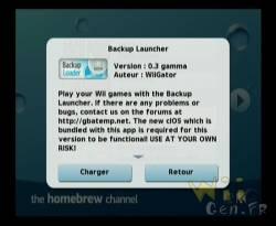 backup launcher 0.3 beta de wiigator