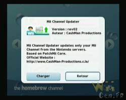 Une mise à jour pour Mii Channel Updater - GAMERGEN COM