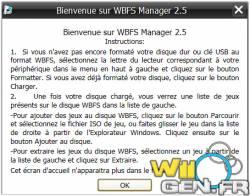 Une mise à jour de WBFS manager - GAMERGEN COM