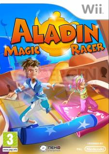 aladin magic racer wii jaquette