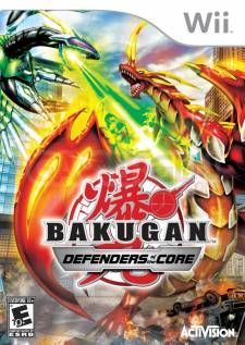 bakugan defenders of the core wii jaquette