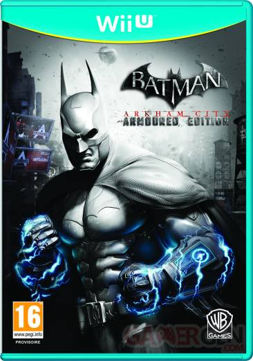 batman arkham city armoured edition wii u jaquette