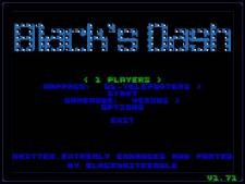 Blacksdash menu