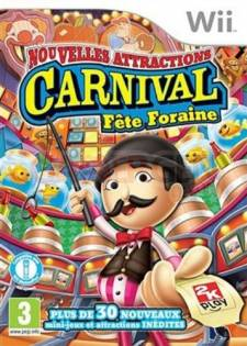 carnival fete foraines nouvelles attractions wii jaquette