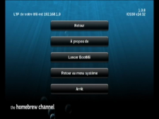 chaine homebrew menu 1