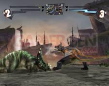 combat de geants dinosaures wii 1