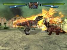 combat de geants dinosaures wii 2