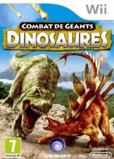combat de geants dinosaures wii jaquette