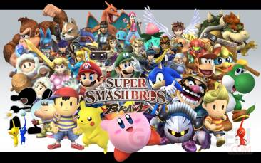 démo eShop SuperSmashBrosWallpaper21280x800