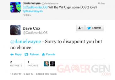 Dave Cox LOS 2