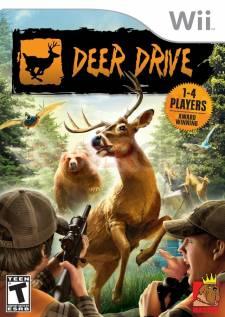 deer drive wii jaquette