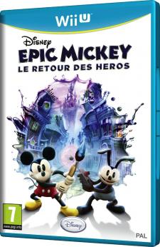 Disney Epic Mickey : le retour des Héros jaquette mickey