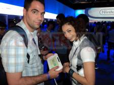 E3 2011 - Nintendo Wii U Babes Jester