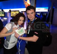 E3 2011 - Nintendo Wii U Babes Vanou