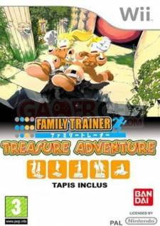 family trainer treasure adventure wii jaquette