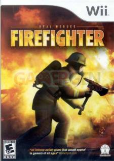 firefighter wii jaquette