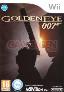 goldeneye 007 wii jaquette