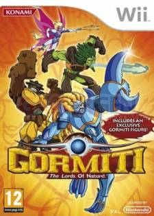 gormiti lords of nature wii jaquette
