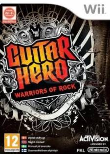 guitar hero warriors of rock wii jaquette
