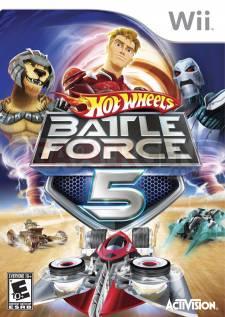 hot wheels battle force 5 jaquette