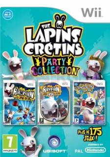 Jaquette-Boxart-Cover-Art-The Lapins Cretins - Party Collection-350x500-28022011