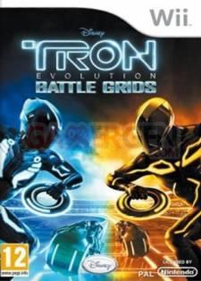 Jaquette-Boxart-Cover-Art-Tron - Evolution - Les Batailles Du Damier-357x500-31012011