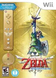 Jaquette Zelda Skyward Sword