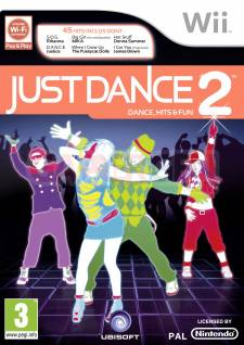 just dance 2 wii jaquette