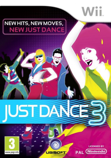 just dance 3 Just Dance 3 - jaquette - front cover