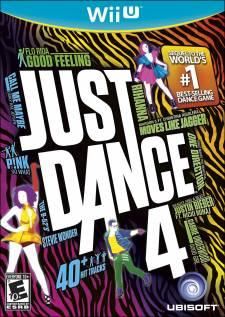 Just Dance 4 jaquette Wii U