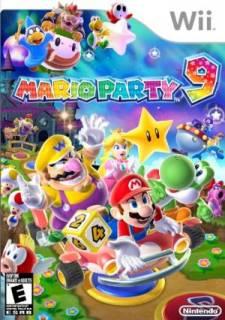 Mario Party 9 Jaquette
