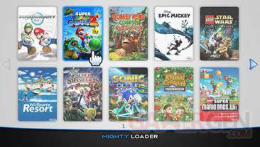Mighty Loader screen