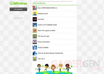 Miiverse Navigateur web