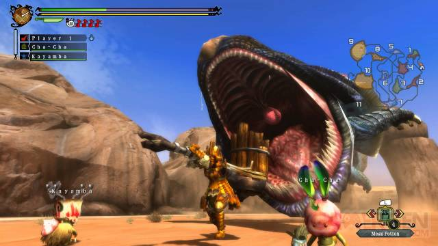 Monster Hunter 3 Ultimate monster-hunter-3-ultimate-wii-u-screenshot-10