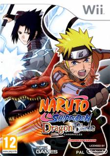 naruto shippuden dragon blade chronicles wii jaquette