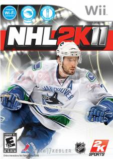 nhl 2k11 wii jaquette