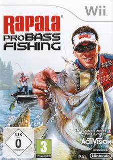 rapala pro bass fishing wii jaquette