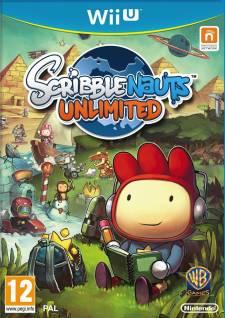 Scribblenauts Unlimited jaquette cover boxart jaquette scribblenauts unlimited
