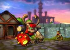 Skylanders Giants - Tree Rex and Flynn