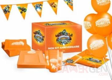 Skylanders kit anniversaire 01.07.2013.