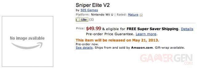 Sniper Elite V2 sniper elite v2 amazon