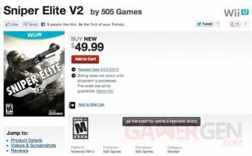 Sniper Elite V2 sniper elite v2 gamestop