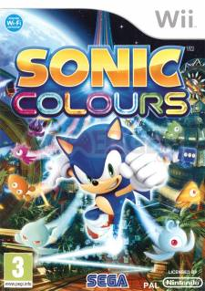 sonic colours wii jaquette