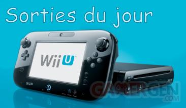 Sorties du jour Wii u 01.12.2012.