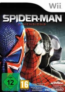 spider man dimensions jaquette